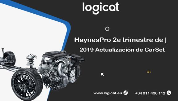 HaynesPro 2do trimestre de 2019 Actualización de CarSet