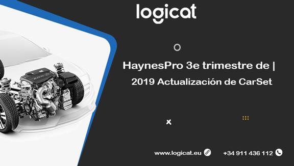 HaynesPro 3e trimestre de 2020 Actualización de CarSet